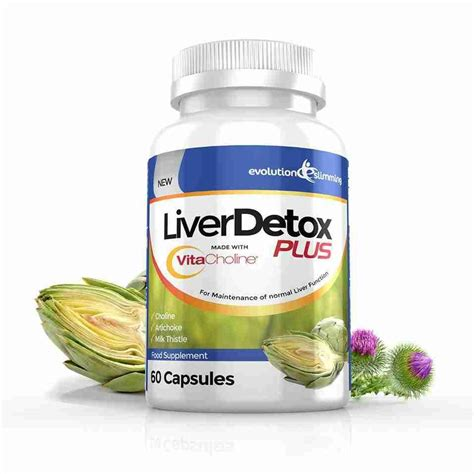 Best Detox Products by Liverdetox Plus With Vitacholine For Liver Detox Health