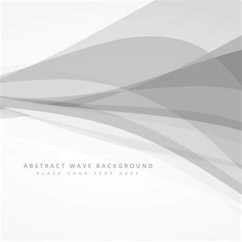 grey graphic pattern abstract background with grey waves vector free download