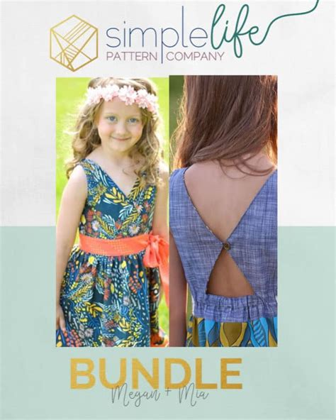 simple pattern company isla s infinity tunic and dress the simple life pattern