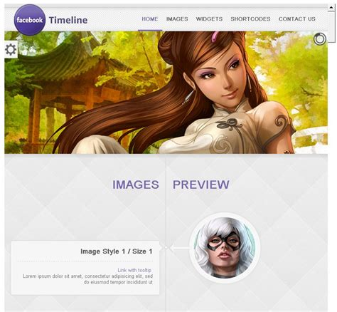 themes on facebook timeline 20 best facebook timeline style wordpress themes