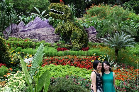 sentosa new year flower exhibition singapore sentosa flower show in bloom 187 gagdaily news