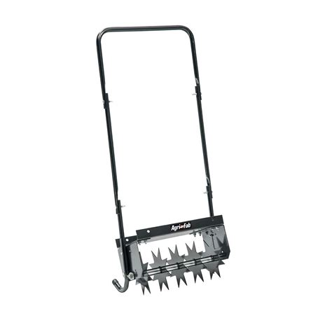 home depot aerator rental agri fab push spike aerator 45 0365 the home depot