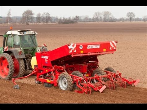 grimme gl 430 potato planter 5 in 1 planting combin