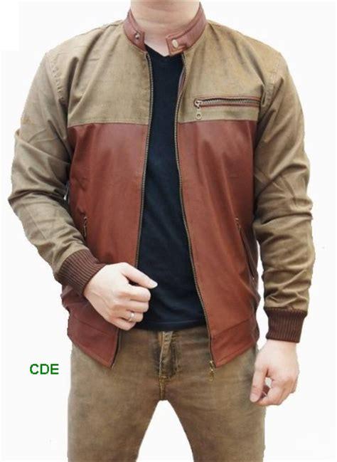 Jaket Kulit Pria Kw contoh model jaket kulit pria