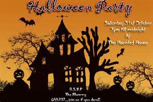 halloween party invitations sample easyday