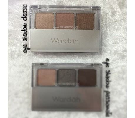 Eye Shadow Wardah Classic Halal Cosmetics Singapore Eyexpert Eyeshadow
