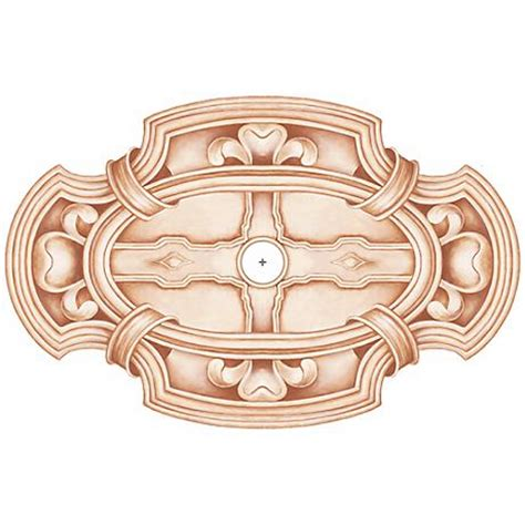 gilles square 48 quot wide repositionable ceiling medallion