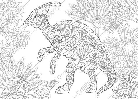 dinosaur mandala coloring pages hadrosaur dinosaur dino coloring pages animal coloring book