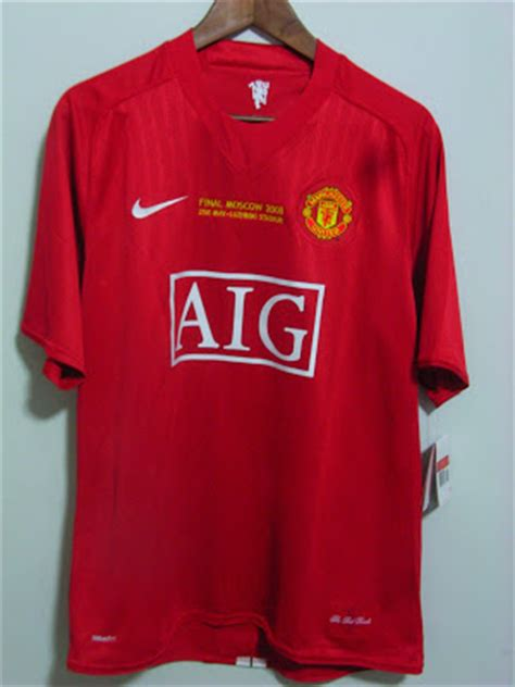 Jersey Manchester United Moscow 2007 ahliam84 s manchester united jerseys 2007 2008 chions