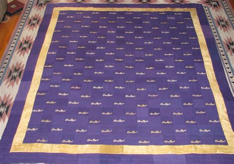 How To Make A Crown Royal Bag Quilt crown royal bag quilt made from more than 160 bags