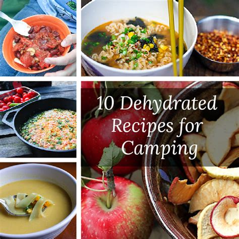 dehydrated food 10 dehydrated recipes for cing the c gal