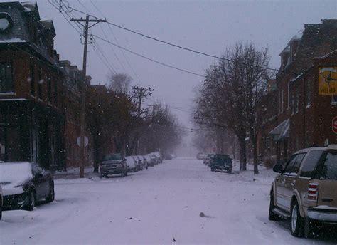 St Snow let it snow st louis