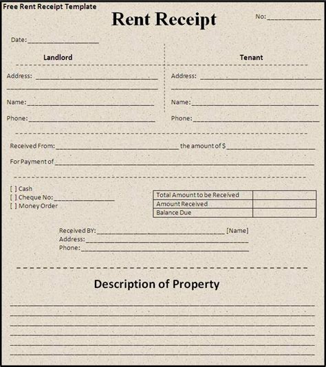 rental receipt templates free house rental invoice click on the button