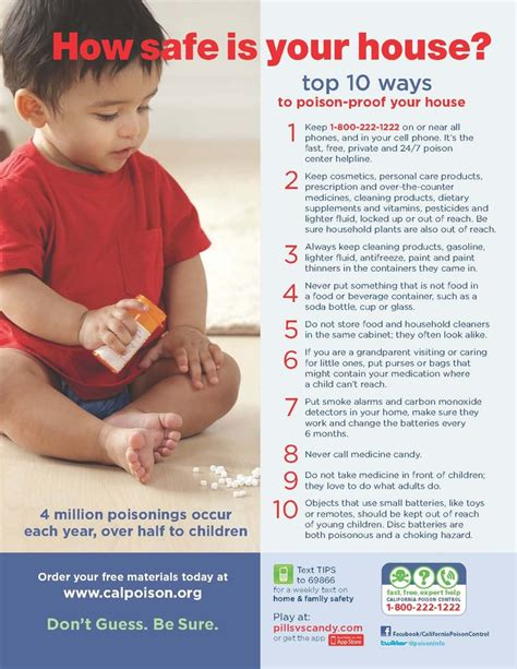 10 Safety Tips To Follow In Your Home by 1000 Images About Poison Prevention On