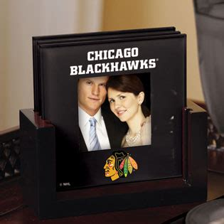 chicago blackhawks glass table l chicago blackhawks nhl glass photo frame coaster set