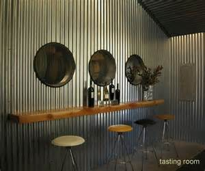 Corrugated Iron Interior Walls by Corrugated Metal For Interior Walls Caldwell Tasting