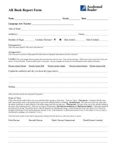 middle school book report form high school book report format