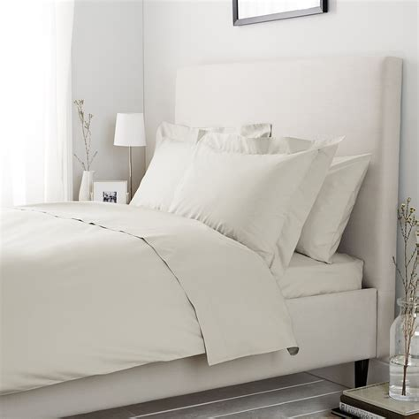 bed linen thread count 200 thread count cotton bed linen soft grey