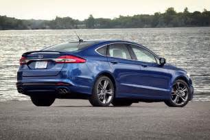 Ford Fusion 2017 Ford Fusion V 6 Sport Drive Motor Trend