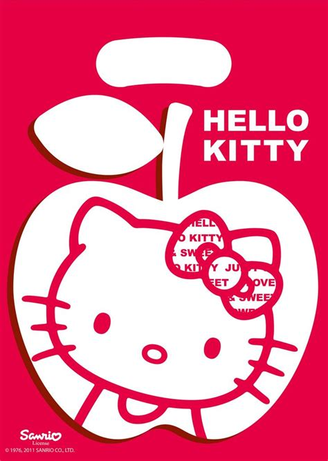Piyama Motif Hello Kity hello apple search silhouette hello and