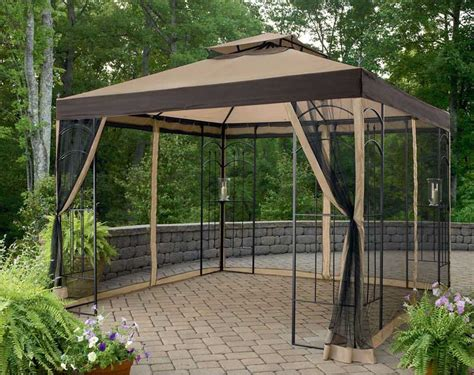 gazebo with netting gazebo with mosquito netting assembly