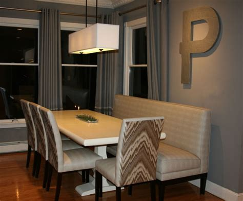 dining room booth seating banquette
