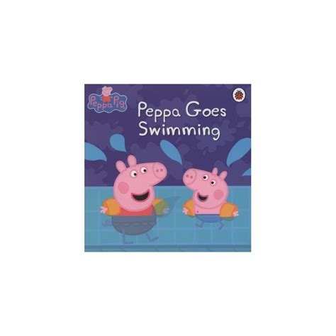 peppa pig peppa goes swimming english wooks