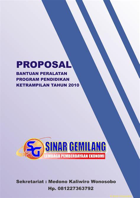 contoh desain cover proposal contoh desain cover proposal