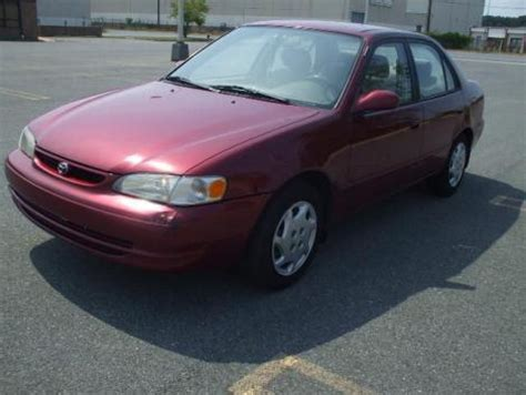 Toyota Corolla 5000 For Sale Fuel Efficient Car 5000 In Md Toyota Corolla Le