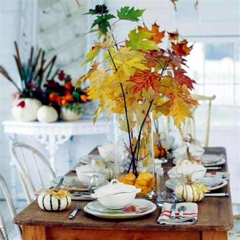 vintage home love autumn table decor and a vintage industrial table 30 ideas for autumn table decoration with pumpkins for