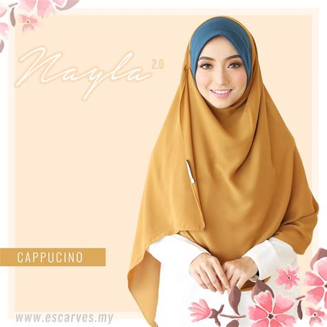 Nayla Shawl 1 3 Gaya out of stock shawl labuh nayla 2 0 escraves asmi