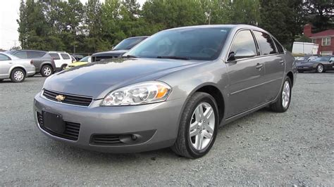 2006 chevrolet impala ltz 3 9 v6 start up exhaust and in
