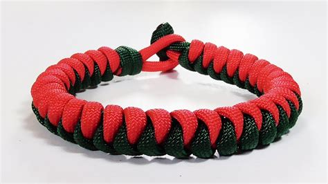 two color paracord bracelet paracord bracelet two color snake knot bracelet design