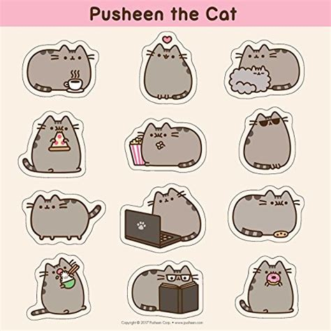 Boneka Pusheen Cat Kucing Grey Abu Abu pusheen the cat 2018 wall calendar buy in uae calendar products in the uae see