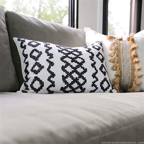 boho pillows no sew diy boho pillows mountainmodernlife