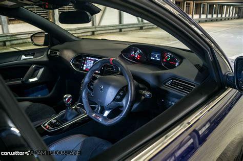 peugeot 308 gti interior peugeot 308 gti review carwitter