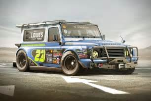 nascar land rover defender by yasid design hiconsumption