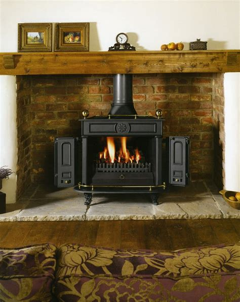 Wood Burning Stove In Fireplace by Stoves Country Comfort Wood Stoves
