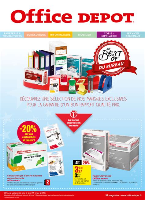 office depot bureau office d 233 p 244 t best of du bureau cataloguespromo com