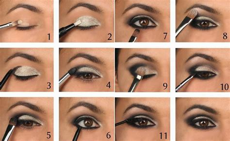 eyeshadow tutorial with pictures smoky eye makeup tutorial smoky eye guide road2beauty