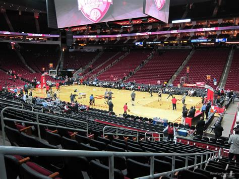 toyota center sections toyota center section 117 houston rockets