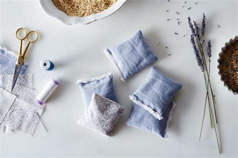 diy lavender sachets   sock drawer  smells nice