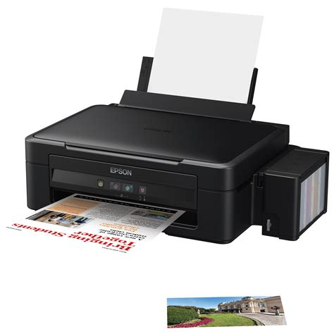 how can reset epson l210 printer multifunctional inkjet color epson l210 a4 emag ro
