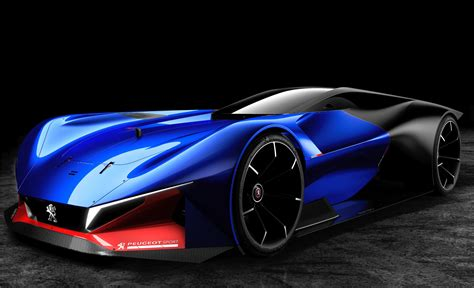peugeot new sports car peugeot l500 r hybrid concept peugeot sports car youtube
