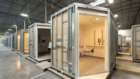 prefabricated bathrooms oldcastle surepods prefab bathroom pods