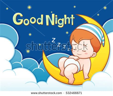 cartoon wallpaper good night positivism stock images royalty free images vectors