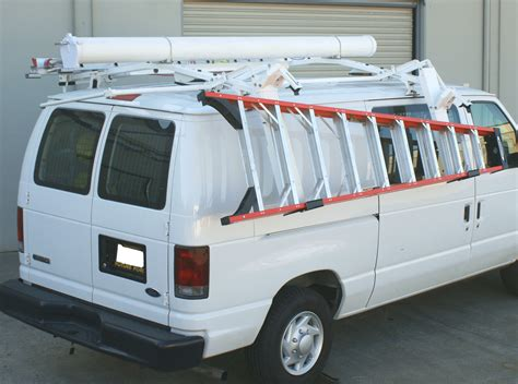 Ladder Racks For Vans by Kargo Master Drop Ladder Rack