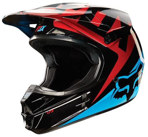 fox helmets 169 95 fox racing v1 race helmet 205089