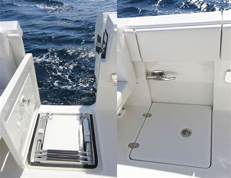 boats with side doors 2016 sea hunt 235 side ladder is not usable the hull
