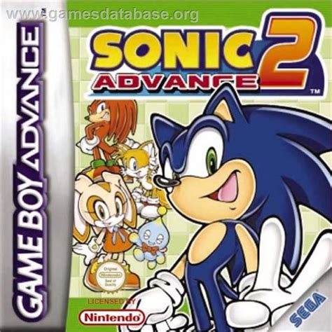 Cover Scoopy F1 Crem sonic advance 2 nintendo boy advance database